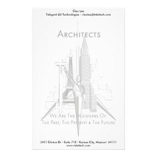 Arquitectos Papeleria De Diseño
