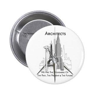 Arquitectos Pin Redondo De 2 Pulgadas