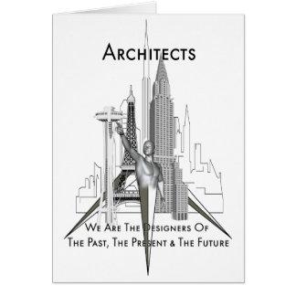 Arquitectos Tarjeta De Felicitación