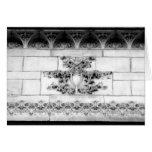 Arquitectura 18 del Casa-Vintage del arte del Note Tarjeta