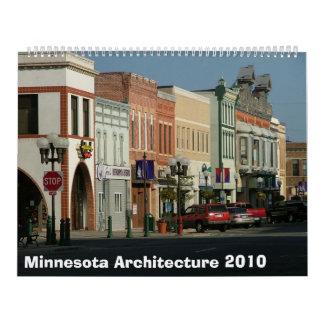 Arquitectura 2010 de Minnesota Calendario