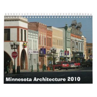 Arquitectura 2010 de Minnesota Calendarios De Pared