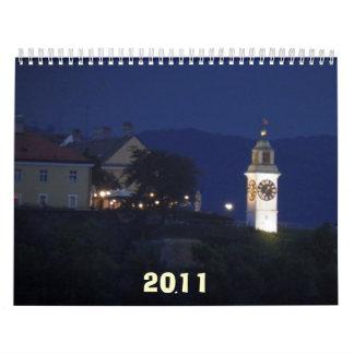 Arquitectura, 2011 calendario de pared