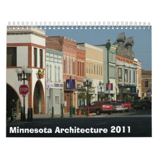 Arquitectura 2011 de Minnesota Calendarios De Pared