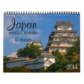 arquitectura 2014 de Japón Calendarios