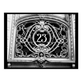 Arquitectura 52 del Casa-Vintage del arte del Post Postal
