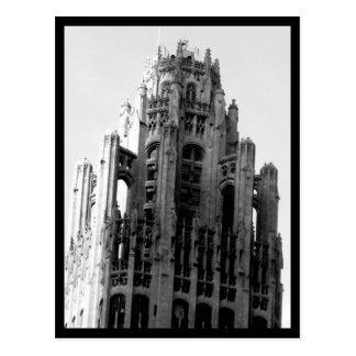 Arquitectura 59 del Casa-Vintage del arte del Post Postal
