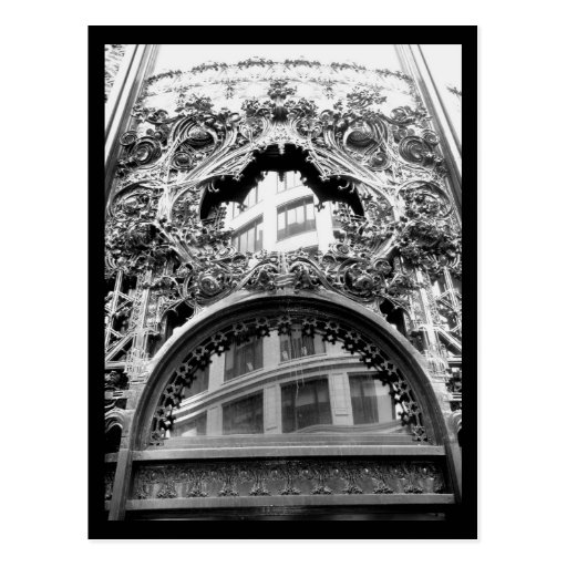 Arquitectura 62 del Casa-Vintage del arte del Post Postal