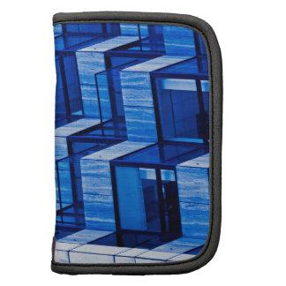 Arquitectura abstracta - azul organizador