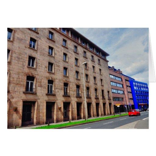 Arquitectura alemana felicitacion