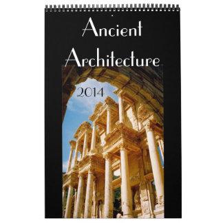 arquitectura antigua 2014 calendarios de pared