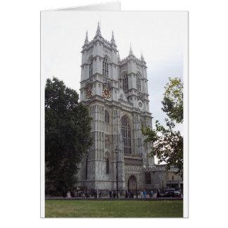 Arquitectura antigua de Inglaterra Tarjeta De Felicitación
