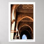 Arquitectura árabe póster