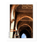 Arquitectura árabe tarjeta postal