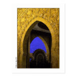 Arquitectura árabe tarjetas postales