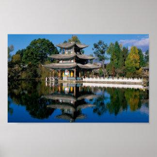 Arquitectura asiática impresiones