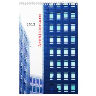 arquitectura calendario de pared