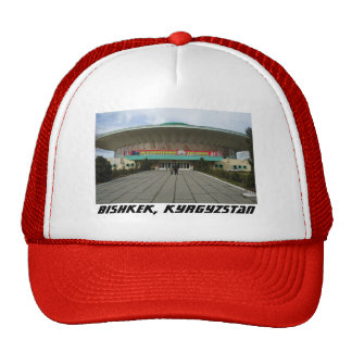 Arquitectura comunista, circo de Bishkek, Gorro