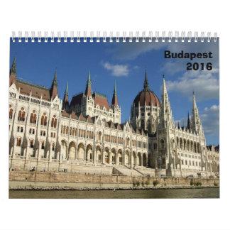 Arquitectura de Budapest - 2016 Calendarios De Pared