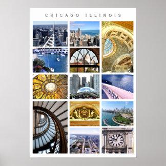 Arquitectura de Chicago - fotos de Chicago, IL Póster