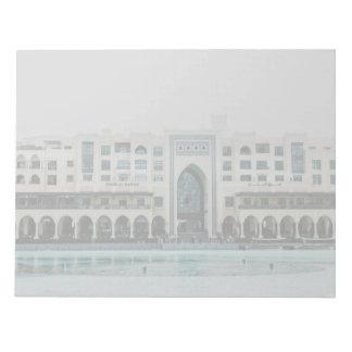 Arquitectura de Dubai Bloc De Notas