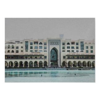 """Arquitectura de Dubai Invitación 5"""" X 7"""""""