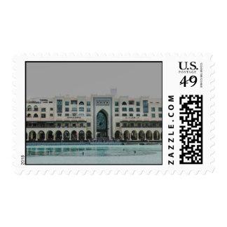 Arquitectura de Dubai Timbre Postal