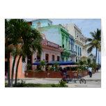 Arquitectura de La Habana Cuba cerca de Malecon Tarjeta De Felicitación