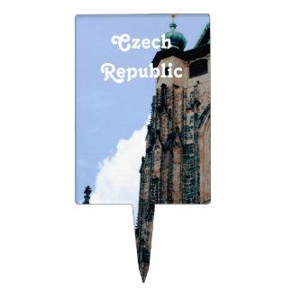 Arquitectura de la República Checa Decoración De Tarta
