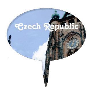 Arquitectura de la República Checa Decoración Para Tarta
