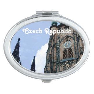 Arquitectura de la República Checa Espejo Compacto