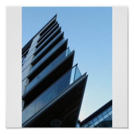Arquitectura de los muelles poster