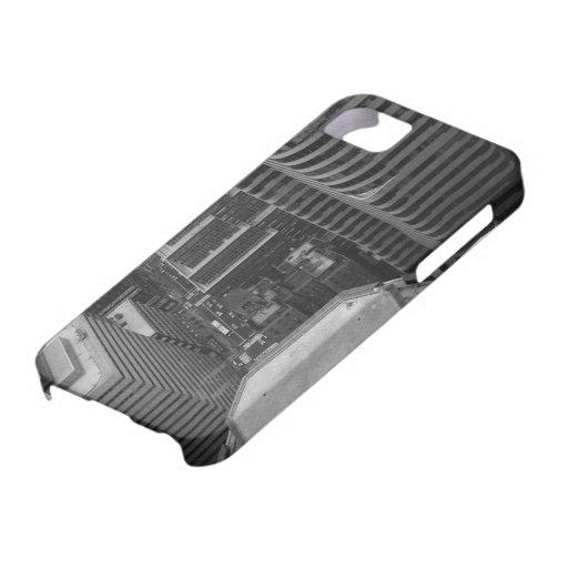 Arquitectura de Manhattan iPhone 5 Case-Mate Funda