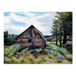 Arquitectura de New México y edificios abandonados Tarjeta Postal