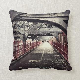 Arquitectura de New York City - puente de Williams Cojin