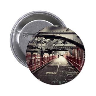 Arquitectura de New York City - puente de Williams Pin Redondo 5 Cm