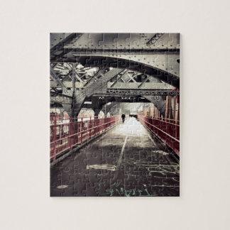 Arquitectura de New York City - puente de Williams Rompecabezas