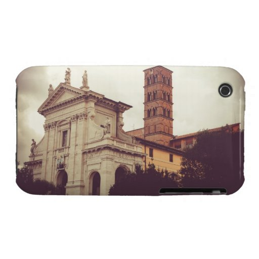 Arquitectura de Roma iPhone 3 Carcasa