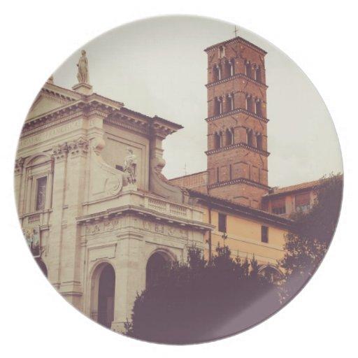 Arquitectura de Roma Platos Para Fiestas