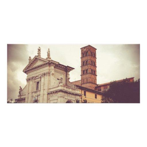 Arquitectura de Roma Tarjeta Publicitaria Personalizada