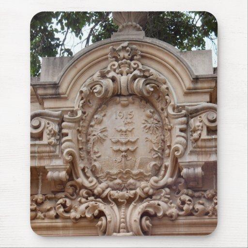 arquitectura de San Diego Alfombrilla De Ratón