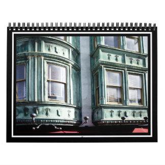 Arquitectura de San Francisco Calendario De Pared