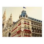 Arquitectura de Wien Tarjetas Postales