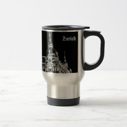 Arquitectura de Zurich Tazas De Café