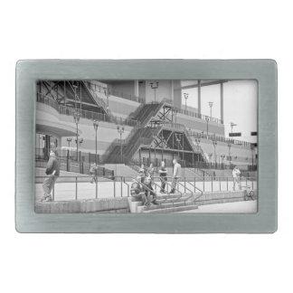 Arquitectura del acueducto hebilla de cinturón rectangular