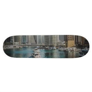 Arquitectura del puerto deportivo de Dubai Patines Personalizados