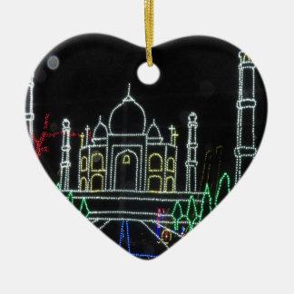 Arquitectura del Taj Mahal el Taj Mahal Mughal Adorno De Cerámica En Forma De Corazón