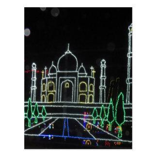 Arquitectura del Taj Mahal el Taj Mahal Mughal Tarjetas Postales