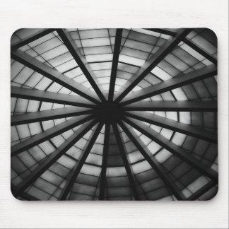 Arquitectura del techo del tragaluz alfombrilla de ratón
