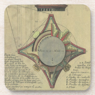Arquitectura del vintage, corona capital posavasos